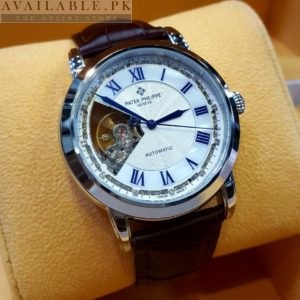Patek Philippe Skeleton Blue Digits His Watch Price In Pakistan