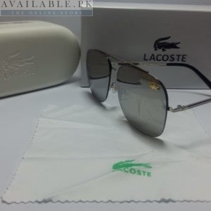 Lacoste Retro Squared Grey Sunglasses Price In Pakistan