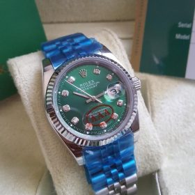 Rolex DateJust Automatic Green Dial Stainless Her Watch Price In Pakistan