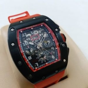 Richard Mille AMG11AG Automatic Red Men Watch Price In Pakistan