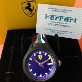 Ferrari Scuderia Blue 458 Strap Sports Men Watch In Pakistan
