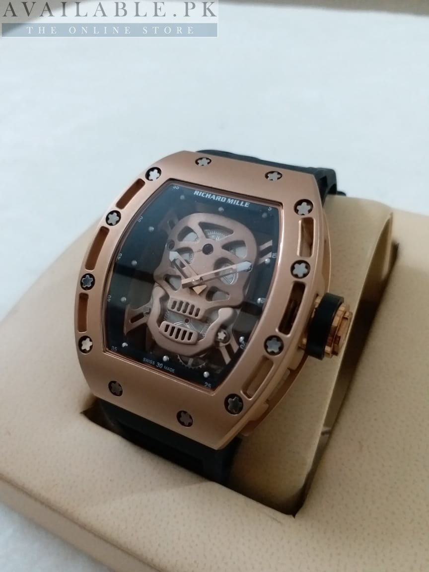 Richard Mille Rm052 01 Skull Tourbillon Watch