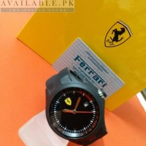 Ferrari Scuderia All Black Date Display Men Watch Price In Pakistan