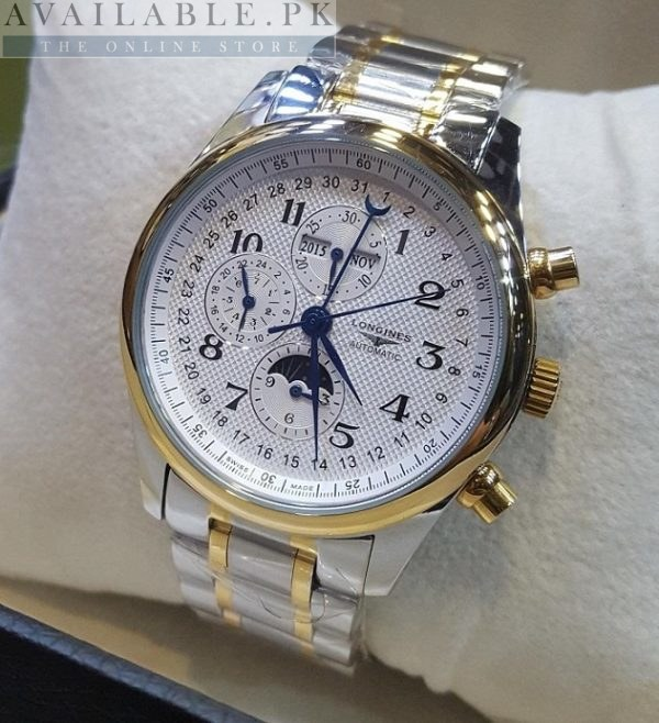 Longines MoonCraft Calendar Display Automatic Watch Price In Pakistan