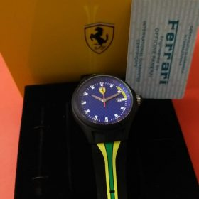 Ferrari Blue Dial Pit Crew Sports Men Watch In Pakistan