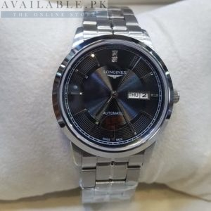 Longines Vintage Black Dial Stainless Steel His Watch Price In Pakistan