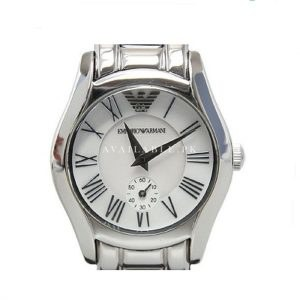 Emporio Armani AR0698 Solid Stainless Steel Strap Ladies