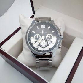 Mont Blanc Stainless Silver Chronograph Automatic His Watch Price In Pakistan