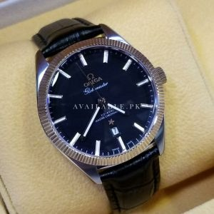 Omega Globe Master Automatic Black Men's Watch Price In Pakistan