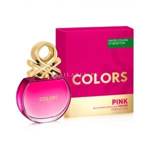 Benetton Colors Pink EDT Perfume For Women 80ML
