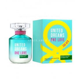 Benetton United Dreams One Love her Perfume 80ML