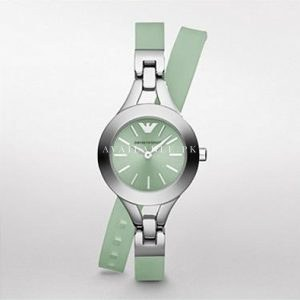 roduct specifications Watch Information Brand Name Emporio Armani Part Number AR7346 Display Type analogue Case Material Stainless Steel Case Diameter 27 Case Thickness 8 Band Material Rubber Movement Quartz