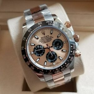 Rolex Daytona Chronograph Rose Gold Dial Men's Watch Price In Pakistan