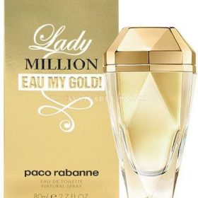 Lady Million Eau My Gold by Paco Rabanne, 80ml