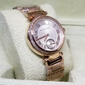 Michael Kors Roman Digits Rose Gold With Stones For Women Price In Pakistan