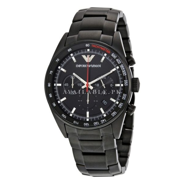 Emporio Armani AR6094 Chronograph Watch With Tag and Case