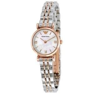 Emporio Armani Ladies Two Tone Watch AR1764