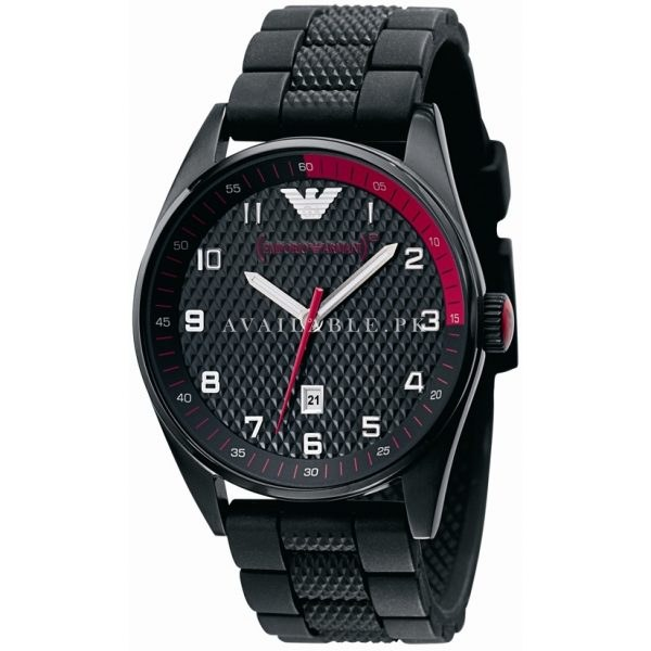 Emporio Armani 'Red' AR5892 Sports Watch