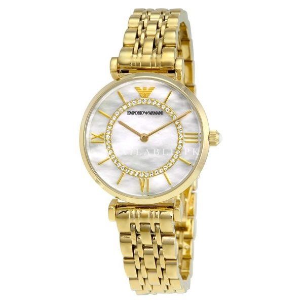 Emporio Armani Women's AR1907 Retro Gold Watch