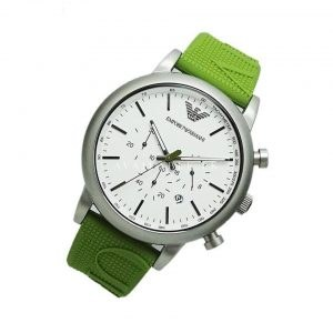 Emporio Armani AR11022 Green Dial Mens Watch