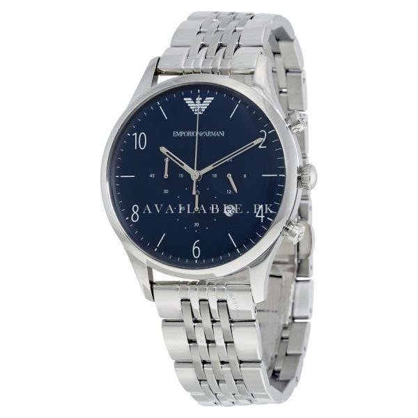 Emporio Armani Men's AR1942 Dress Silver Watch