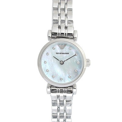 Emporio Armani Women's AR1961 Dress Silver Watch