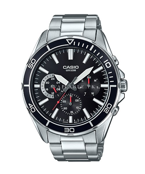 Casio Standard MTD-320D-1AV- For Men