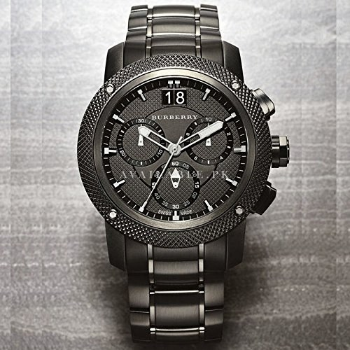 Burberry BU9800 Watch Utilitarian Mens Quartz Movement