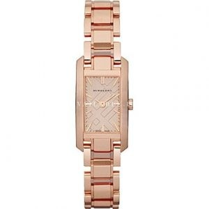 Burberry Womens Watch gold plated Analogue BU9602