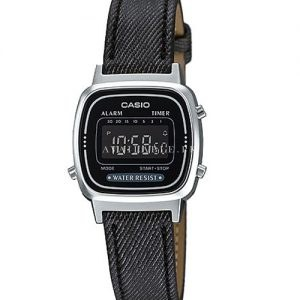Casio LA670WL-1B For Women