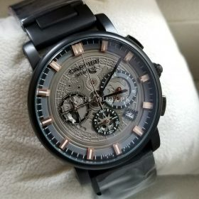 Cartier Matt Black Chronograph Men Watch AAA Replica Price In Pakistan 3