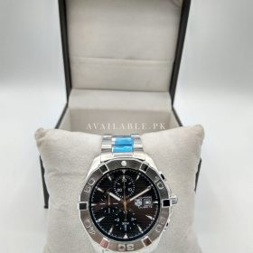 Tag Heuer AquaRacer Black Dial All Stainless Steel Men Watch Price In Pakistan