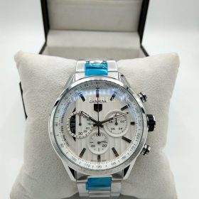 Tag Heuer White & Silver Chronograph Men Watch Price In Pakistan