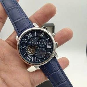 Cartier Blue Chronograph Quartz Men's Watch Price In Pakistan