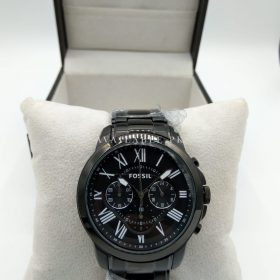 Fossil Grant Chronograph Full Black Men Watch Price In Pakistan