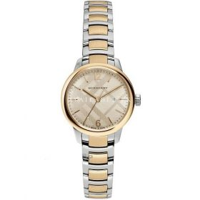 Burberry HER Swiss Classic Round Two-Tone Stainless Steel BU10118