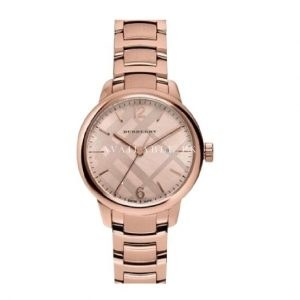 Burberry Rose-Gold Tone The Classic Round shares BU10116