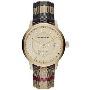 Burberry Gold Dial Stainless Steel Multi Quartz Ladies Watch BU10001