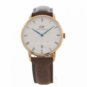 Daniel Wellington HER Analogue Quartz Watch Leather DW00100094