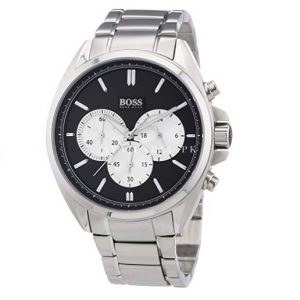 Hugo Boss Mens Chronograph Stainless Steel Watch 1512883