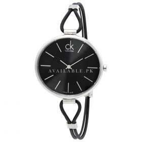 Calvin Klein Women's K3V231L6 White Leather Analog Watch