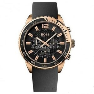Hugo Boss Black 1512931 Mens Watch Chronograph Nuevo