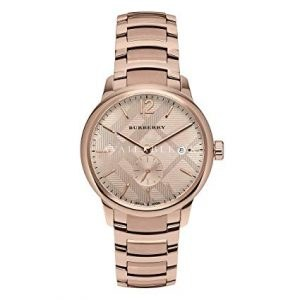 Burberry The Classic Round Rose Gold Bracelet Watch BU10013