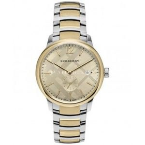 Burberry The Classic Round Ladies Watch Bu10113