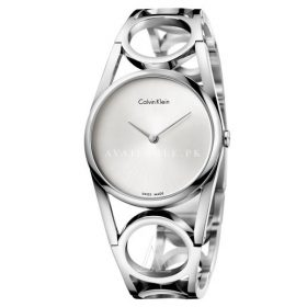 Calvin Klein Women's Quartz Watch Stainless Steel K5U2M146