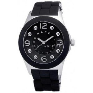 Marc-Jacobs Extra Large: 48mm Pelly Black Watch MBM2544