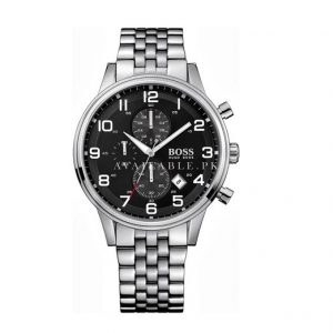 Hugo Boss 1512446 Gents Watch Analogue Quartz Black Dial