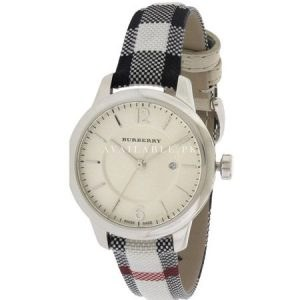Burberry The New Round Ladies stainless steel Watch Bu10103
