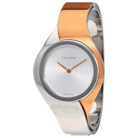 Calvin Klein Manual Women's Quartz bracelet Watch K5N2M1Z6