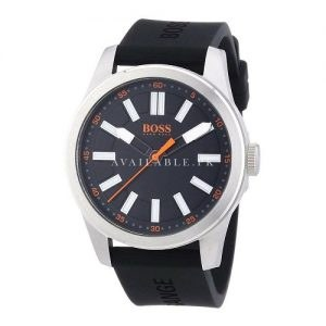 Boss Orange Men's Watch XL Big Up Analogue Quartz Silicone 1512936